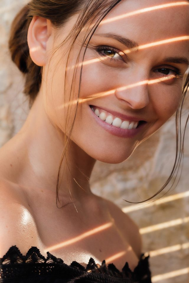A portraitphotography of a beautiful woman